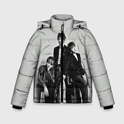 Куртка зимняя для мальчика BTS Grey цвета 3D-черный — фото 1