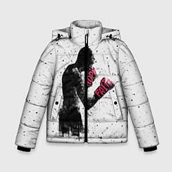 Куртка зимняя для мальчика Hope Faith цвета 3D-черный — фото 1
