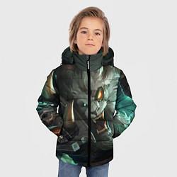 Куртка зимняя для мальчика Ренгар цвета 3D-черный — фото 2