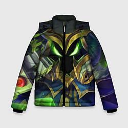 Куртка зимняя для мальчика Вейгар цвета 3D-черный — фото 1