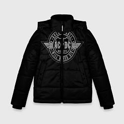 Куртка зимняя для мальчика AC/DC: Will never die цвета 3D-черный — фото 1