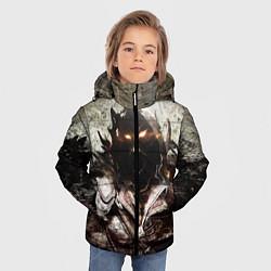 Куртка зимняя для мальчика Disturbed: Madness цвета 3D-черный — фото 2