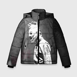 Куртка зимняя для мальчика Кори Тейлор цвета 3D-черный — фото 1