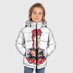 Куртка зимняя для мальчика Twenty One Pilots: Red Guy цвета 3D-черный — фото 2