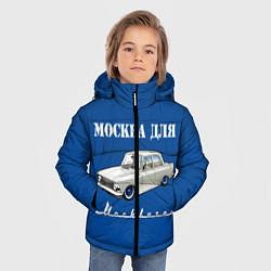 Куртка зимняя для мальчика Москва для москвичей цвета 3D-черный — фото 2