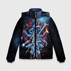 Куртка зимняя для мальчика Cult of Fire цвета 3D-черный — фото 1