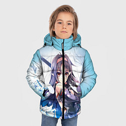 Куртка зимняя для мальчика Konno Yūki1 цвета 3D-черный — фото 2