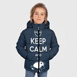 Куртка зимняя для мальчика Keep Calm & Squirtle - фото 2