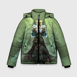 Куртка зимняя для мальчика TES: Heaven Knight цвета 3D-черный — фото 1