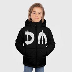 Куртка зимняя для мальчика DM Rock цвета 3D-черный — фото 2