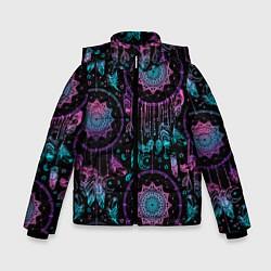 Куртка зимняя для мальчика Ловцы снов цвета 3D-черный — фото 1