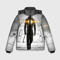 Куртка зимняя для мальчика Гордон Фримен цвета 3D-черный — фото 1