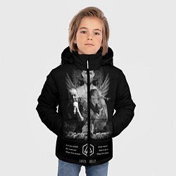 Куртка зимняя для мальчика Bennington Memories цвета 3D-черный — фото 2