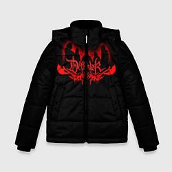 Куртка зимняя для мальчика Dethklok цвета 3D-черный — фото 1