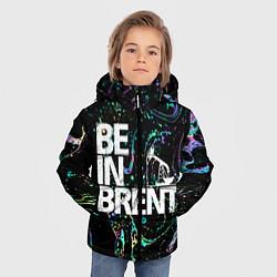 Куртка зимняя для мальчика Be in brent цвета 3D-черный — фото 2