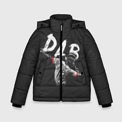 Куртка зимняя для мальчика Paul Pogba: Dab цвета 3D-черный — фото 1