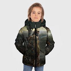Куртка зимняя для мальчика STALKER: Call of Pripyat цвета 3D-черный — фото 2