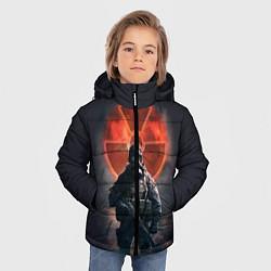 Куртка зимняя для мальчика STALKER: Red Sun цвета 3D-черный — фото 2
