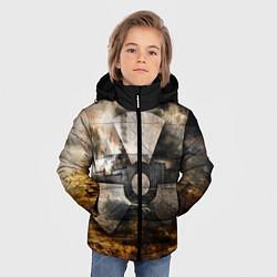 Детская зимняя куртка для мальчика с принтом STALKER: Nuclear, цвет: 3D-черный, артикул: 10135204706063 — фото 2