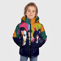Куртка зимняя для мальчика Coldplay цвета 3D-черный — фото 2