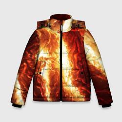 Куртка зимняя для мальчика Gates of hades цвета 3D-черный — фото 1