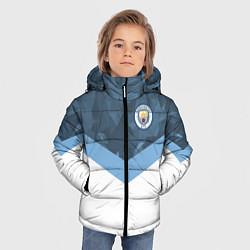 Детская зимняя куртка для мальчика с принтом Manchester City FC: Sport, цвет: 3D-черный, артикул: 10137034906063 — фото 2