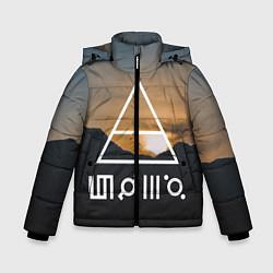 Детская зимняя куртка для мальчика с принтом 30 STM: Sunset, цвет: 3D-черный, артикул: 10137319506063 — фото 1