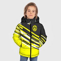 Куртка зимняя для мальчика Borussia FC: Sport Line 2018 цвета 3D-черный — фото 2