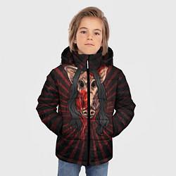 Куртка зимняя для мальчика He is everyone цвета 3D-черный — фото 2