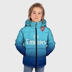 Куртка зимняя для мальчика Arsenal FC: Blue Away 17/18 цвета 3D-черный — фото 2