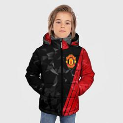 Куртка зимняя для мальчика FC Manchester United: Abstract цвета 3D-черный — фото 2