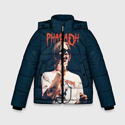 Куртка зимняя для мальчика Pharaoh цвета 3D-черный — фото 1