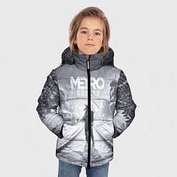 Детская зимняя куртка для мальчика с принтом Metro Exodus, цвет: 3D-черный, артикул: 10141949906063 — фото 2