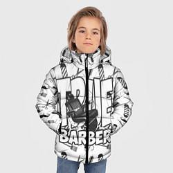 Куртка зимняя для мальчика True Barber цвета 3D-черный — фото 2