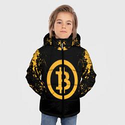 Куртка зимняя для мальчика Bitcoin Master цвета 3D-черный — фото 2