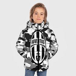Куртка зимняя для мальчика FC Juventus: Camouflage цвета 3D-черный — фото 2