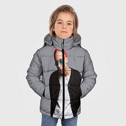 Детская зимняя куртка для мальчика с принтом T-Fest, цвет: 3D-черный, артикул: 10144503706063 — фото 2