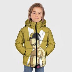 Куртка зимняя для мальчика Anime XXXTentacion цвета 3D-черный — фото 2