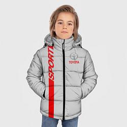 Куртка зимняя для мальчика Toyota: Silver Sport цвета 3D-черный — фото 2