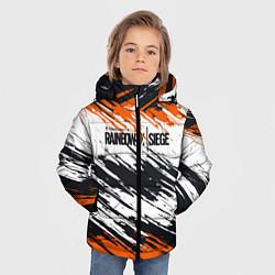 Куртка зимняя для мальчика Rainbow Six Siege: Orange цвета 3D-черный — фото 2