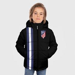 Куртка зимняя для мальчика FC Atletico Madrid: Blue Line цвета 3D-черный — фото 2