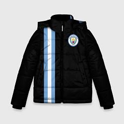 Куртка зимняя для мальчика Манчестер Сити цвета 3D-черный — фото 1