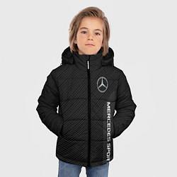 Куртка зимняя для мальчика Mercedes AMG: Sport Line цвета 3D-черный — фото 2