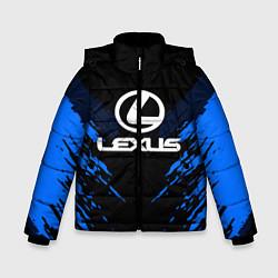 Куртка зимняя для мальчика Lexus: Blue Anger цвета 3D-черный — фото 1