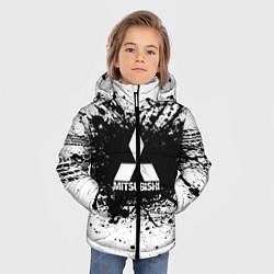 Куртка зимняя для мальчика Mitsubishi: Black Spray цвета 3D-черный — фото 2