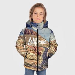 Куртка зимняя для мальчика California Way цвета 3D-черный — фото 2
