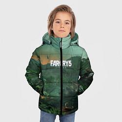 Куртка зимняя для мальчика Far Cry 5: Vietnam цвета 3D-черный — фото 2