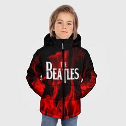 Куртка зимняя для мальчика The Beatles: Red Flame цвета 3D-черный — фото 2