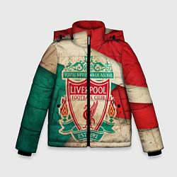Куртка зимняя для мальчика FC Liverpool: Old Style цвета 3D-черный — фото 1