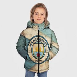 Куртка зимняя для мальчика FC Man City: Old Style цвета 3D-черный — фото 2